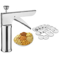 Maruti Brand Stainless Steel Kitchen Press Muruku Cooki Press With Icing Set