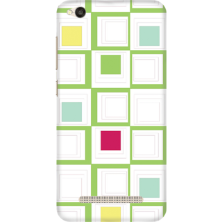 Printed Designer Back Cover For Redmi 4A - Multicolor Design Design