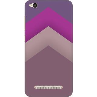 Printed Designer Back Cover For Redmi 4A - Retro Color Panel Design
