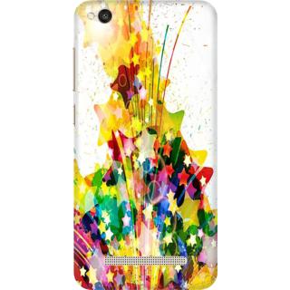 Printed Designer Back Cover For Redmi 4A - Multicolor Design