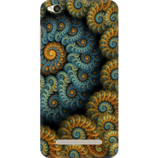 Printed Designer Back Cover For Redmi 4A - designed pattern Design