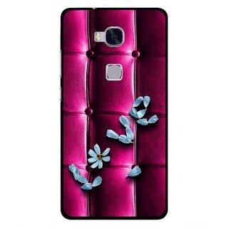 spedizione gratuita bc29b bbbb8 Snooky Printed Love Air Mobile Back Cover For Huawei Honor 5X - Purple