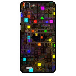 Snooky Printed Gaming Chamber Mobile Back Cover For Vivo Y27L - Multi