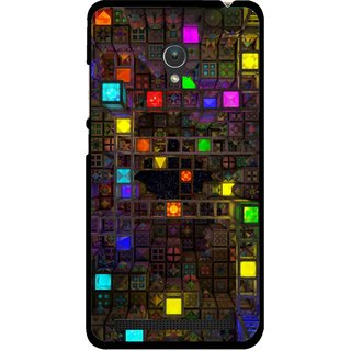 Snooky Printed Gaming Chamber Mobile Back Cover For Asus Zenfone 5 - Multi