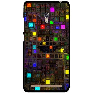 Snooky Printed Gaming Chamber Mobile Back Cover For Asus Zenfone 6 - Multi
