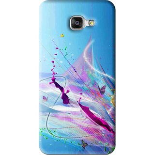 Snooky Printed Blooming Color Mobile Back Cover For Samsung Galaxy A5 2016 - Multi