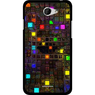 Snooky Printed Gaming Chamber Mobile Back Cover For HTC Desire 516 - Multi