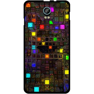 Snooky Printed Gaming Chamber Mobile Back Cover For Intex Aqua Life 2 - Multi