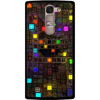 Snooky Printed Gaming Chamber Mobile Back Cover For Lg Spirit - Multi