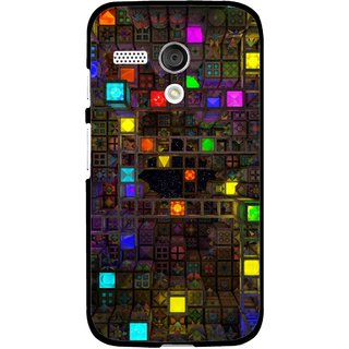Snooky Printed Gaming Chamber Mobile Back Cover For Moto G - Multi