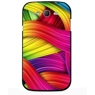 Snooky Printed Color Waves Mobile Back Cover For Samsung Galaxy Grand I9082 - Multi