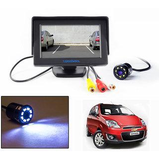 Speedwav 43 LCD TFT Monitor  LED Reverse Parking Camera-Chevrolet Spark New