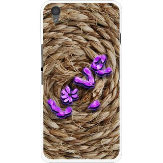 Snooky Printed Love Rove Mobile Back Cover For One Plus X - Brown