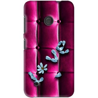 Snooky Printed Love Air Mobile Back Cover For Nokia Lumia 530 - Purple