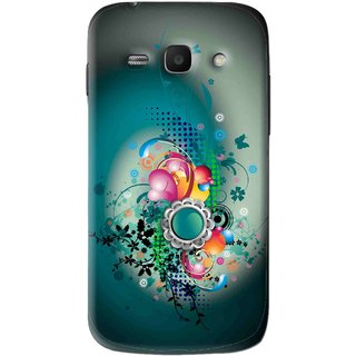 Snooky Printed Sky Flower Mobile Back Cover For Samsung Galaxy Ace 3 - Multi