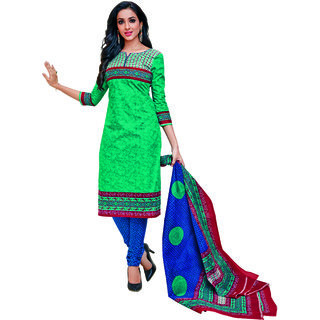 REYA Womens Ethnic wear Premium Cotton unstitched salwar suits dress material