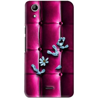 Snooky Printed Love Air Mobile Back Cover For Micromax Canvas Selfie Lens Q345 - Purple