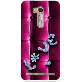 Snooky Printed Love Air Mobile Back Cover For Asus Zenfone Go ZB551KL - Purple