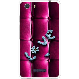 Snooky Printed Love Air Mobile Back Cover For Micromax Canvas Unite 3 - Purple