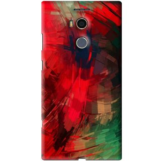 Snooky Printed Modern Art Mobile Back Cover For Gionee Elife E8 - Red