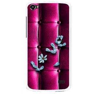 Snooky Printed Love Air Mobile Back Cover For Intex Aqua Star 2 HD - Purple