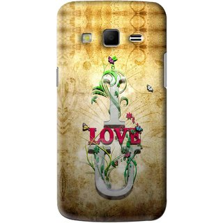 Snooky Printed I Love You Mobile Back Cover For Samsung Galaxy S3 - Brown