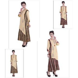 Extend Clothings Rayon Fabric Women Long Kurtis