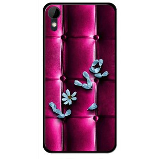 Snooky Printed Love Air Mobile Back Cover For HTC Desire 825 - Purple