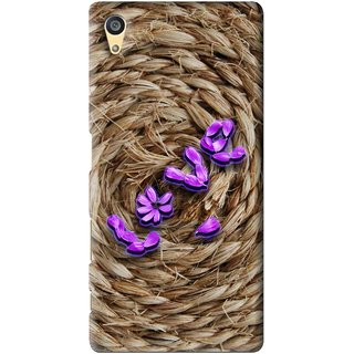 Snooky Printed Love Rove Mobile Back Cover For Sony Xperia Z5 - Brown