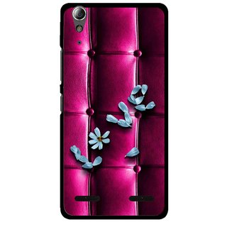 Snooky Printed Love Air Mobile Back Cover For Lenovo A6000 - Purple