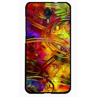 Snooky Printed Vibgyor Mobile Back Cover For Micromax Canvas Xpress 2 E313 - Multi