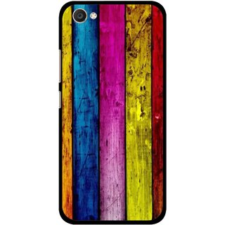 Snooky Printed Stylo Stripe Mobile Back Cover For Vivo V5 - Multi