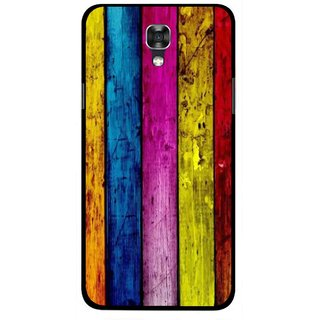 Snooky Printed Stylo Stripe Mobile Back Cover For Lg X Screen - Multi