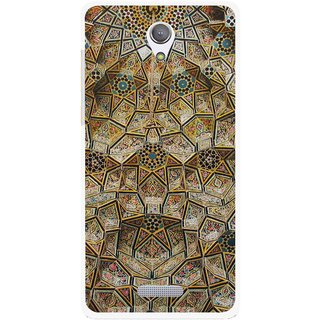 Snooky Printed Heritage Pride Mobile Back Cover For Gionee Marathon M4 - Multi