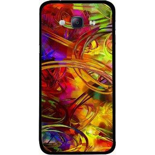 Snooky Printed Vibgyor Mobile Back Cover For Samsung Galaxy A8 - Multi