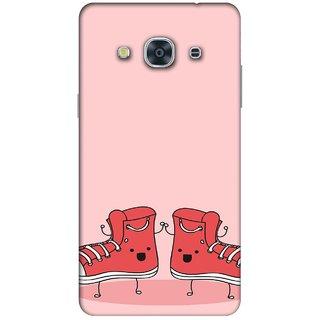 RIE High Quality Printed 3D Designer Hard Back Cover for Samsung Galaxy J2 (2015 ) / SM-J200F - Matte Finish - 076