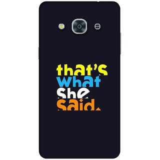 RIE High Quality Printed 3D Designer Hard Back Cover for Samsung Galaxy J2 (2015 ) / SM-J200F - Matte Finish - 711