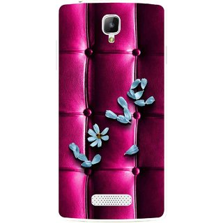 Snooky Printed Love Air Mobile Back Cover For Oppo Neo 3 R831k - Purple