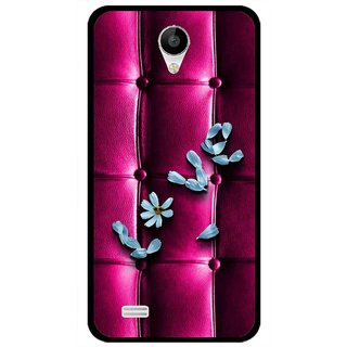 Snooky Printed Love Air Mobile Back Cover For Vivo Y22 - Purple