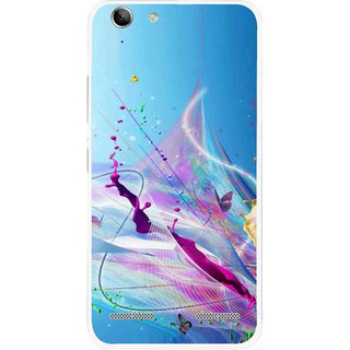 Snooky Printed Blooming Color Mobile Back Cover For Lenovo Vibe K5 Plus - Multi