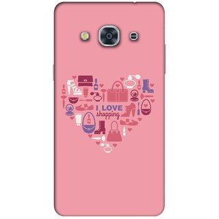 RIE High Quality Printed 3D Designer Hard Back Cover for Samsung Galaxy J2 (2016 )  - Matte Finish - 395
