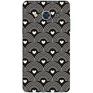 RIE High Quality Printed 3D Designer Hard Back Cover for Samsung Galaxy J2 (2016 )  - Matte Finish - 401