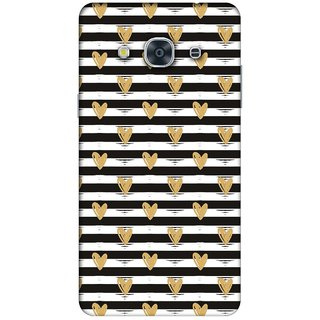 RIE High Quality Printed 3D Designer Hard Back Cover for Samsung Galaxy J2 (2016 )  - Matte Finish - 485