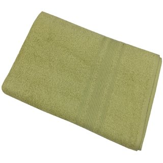 Lushomes Shadow Green Super soft and fluffy Bath Towel (Size 35