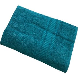 Lushomes Blue Bird Super Soft and Fluffy Bath Towel (Size 30