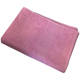 Bath Towel Size On Lushomes Ultra Absorbent Ladies Baby Pink Bath Towel Size 24 48 60 120 Buy