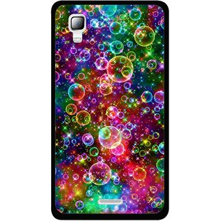 pretty nice ecbce 6c3df Snooky Printed Funky Bubbles Mobile Back Cover For Micromax Canvas Doodle 3  A102 - Multi