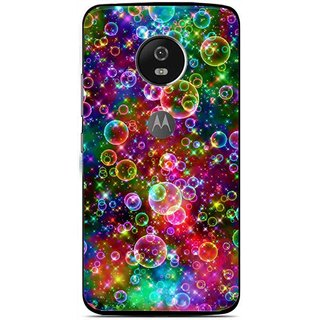 best sneakers 99373 47d2c Snooky Printed Funky Bubbles Mobile Back Cover For Moto G5 Plus - Multi