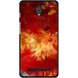 timeless design e30b0 ec7f3 Buy Snooky Printed Flamy Fire Mobile Back Cover For Asus Zenfone C ...