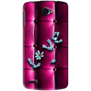 Snooky Printed Love Air Mobile Back Cover For Lenovo S920 - Purple